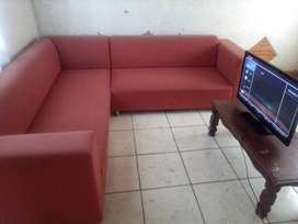 Flat screen TV for sale and couches