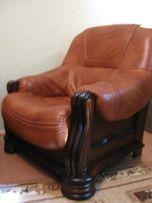 Кресло кожаное фирма KLER