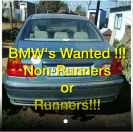 #used BMW'S needed today