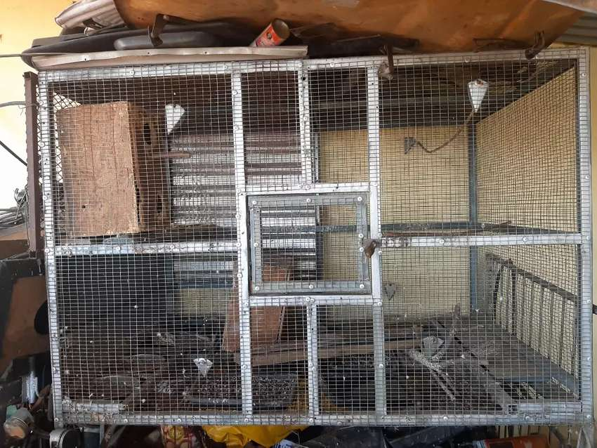 Large bird cage for sale 0