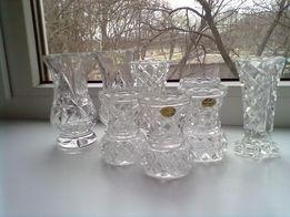 Маленькие вазочки. Богемия.