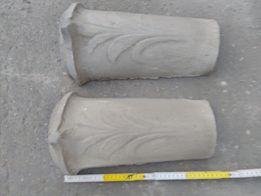 Gąsiory stare zabytkowe ozdobne i ceramiczne dachówkowe starocie PRL