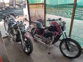 2 x VN1500'S motorcycles for sale/swop