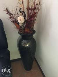 Image of Beautiful Mosaic pot including flowers