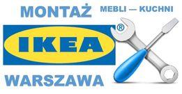 Montaż, skręcanie mebli Ikea i innych... Warszawa