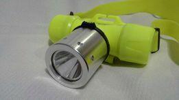 Фонарь подводный налобный CREE XM-L Т6 с аккумулятором и з/у