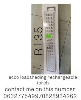 Ecco rechargeable load shedding light.