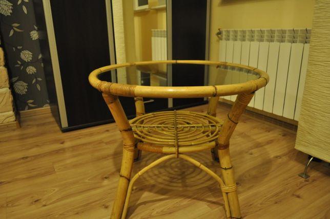 Stolik ratanowy Mniszków - image 1
