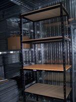 Regał magazynowy metalowy mocny 60/100 i 45,50cm Stół Warsztatowy