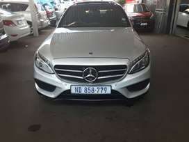 2017 Mercedes Benz C-220-D With Automatic Transmission