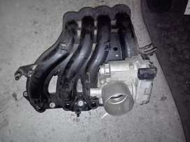 Vw polo vivo n polo6 intec manifold with throtle body