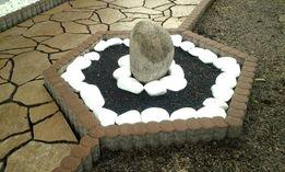 Obrzeże Palisadowe betnowe PALISADA łączona krawężnik ogrodowy KURIER