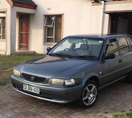 Good condition toyota tazz. Light on fuel and reliable