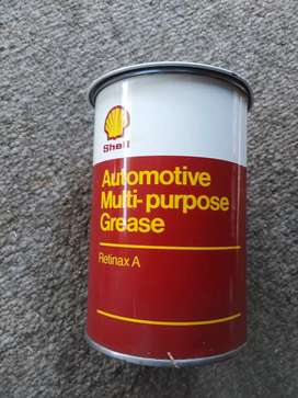Shell, grease can