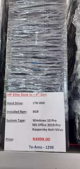 HP Elite intel Core i5