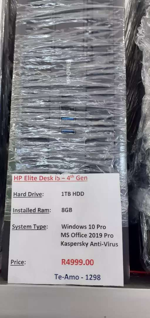 HP Elite intel Core i5 0