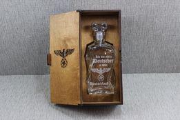 Karafka w pudełku Reichsadler III Rzesza II wś