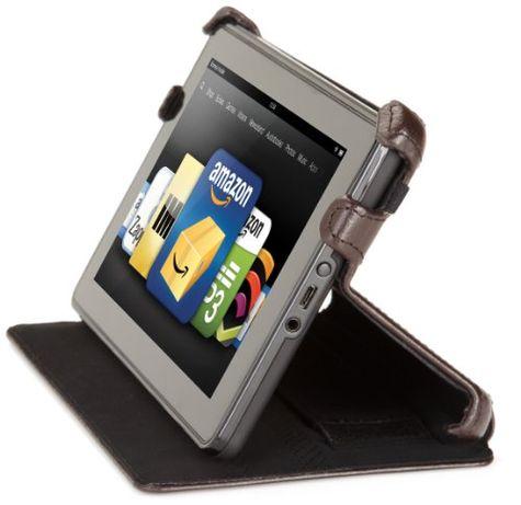 Чехол для планшета Kindle Fire Marware Eco из натуральной кожи коричне Сосница - изображение 3