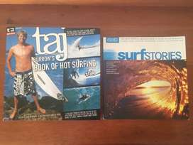 Surfing Books - Surf Stories and Taj Burrows Book of Hot Surfing