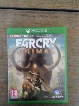 Far Cry primal Xbox one game Speical edition