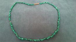 Бусы малахит зеленый