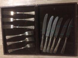 Вилки и ножи серебряные 800 проба