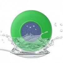 Водонепроницаемая беспроводная колонка hi-Shower для душа зеленая