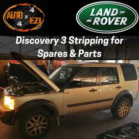 Discovery 3 2.7 TDV6 for Stripping