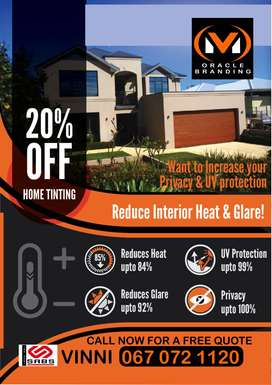 Window tinting, Commercial, Domestic & Industrial