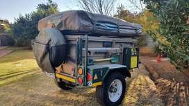 4x4 offroad camping trailer