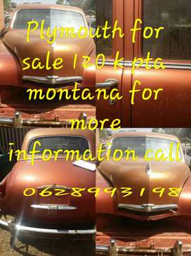 Plymouth for sale project car all parts is there