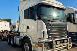 SCANIA R500hp 6x4 DOUBLE AXLE TRUCK TRACTOR ON SALE - 1  .  745 133km