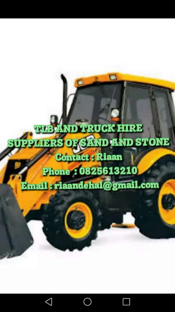 TLB AND TRUCK HIRE 0