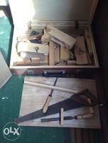 Продается набор столярных ручных инструментов