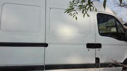Drzwi prawe przesuwne boczne renault master białe