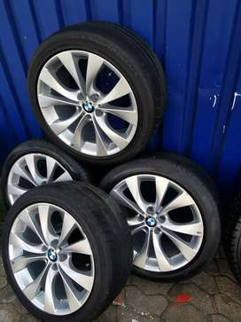 X5 BMW rim tyres are finished