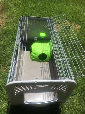Large Critter Cage for Hamster/ Rabbit/ Hedgehog