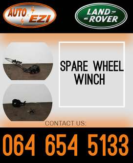 spare wheel winch for sale.(Land rover and Jaguar spares and parts)