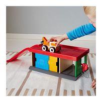 Гараж с эвакуатором IKEA Lillabo,Икеа Лиллабо грузовые машинки