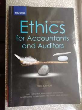 Ethics for Accountants and Auditors, 4th Edition