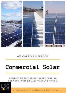 Solar Power for your business. 0% upfront costs.