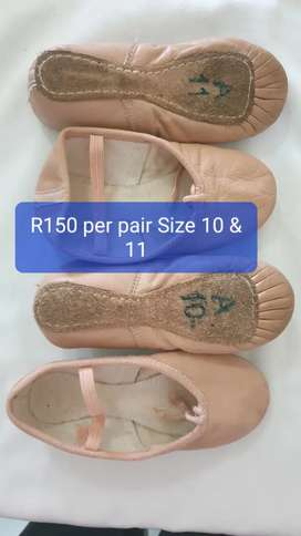 Ballet Shoes PinknLeather R150 per pair