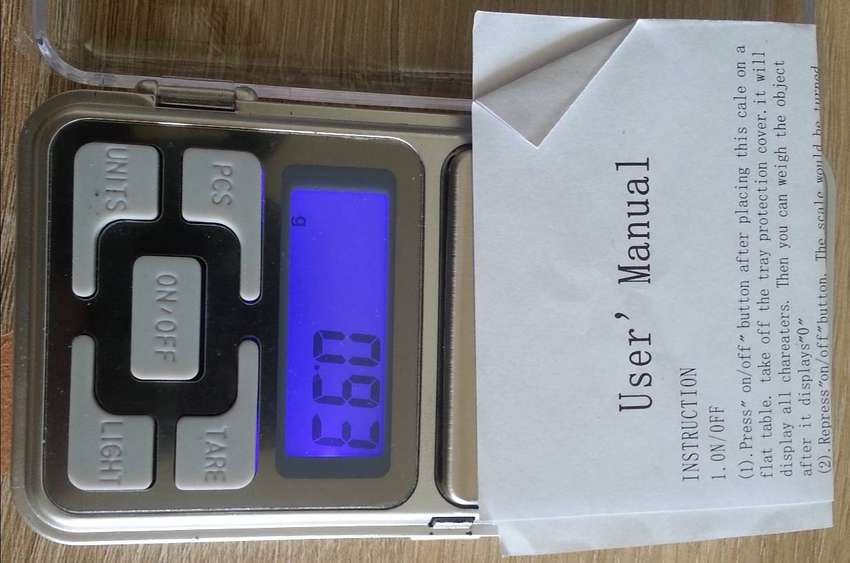 Electronic precision scale 0.01g  to 200g 0
