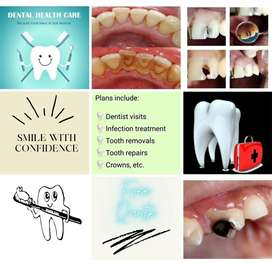Having problems with your teeth? We have an affordable dental cover!