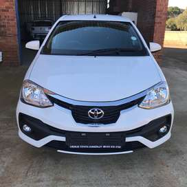 2017 Toyota Etios XS Sprint 5Dr for sale