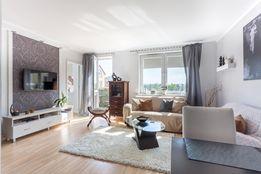 Mieszkanie dwupoziomowe70m2 z wyposażeniem w atrakcyjnym miejscu