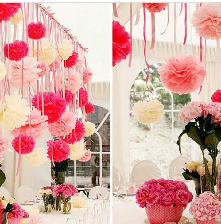PAPER CRAFTS, FLOWER BACKDROPS & DECOR 0