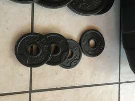 Full training weights (A steel)