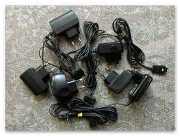 Зарядные к старым телефонам