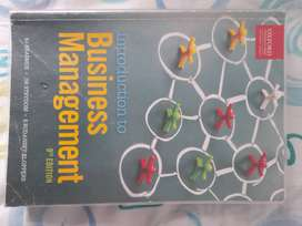 Business Management 9th Edition textbook (Bcom)